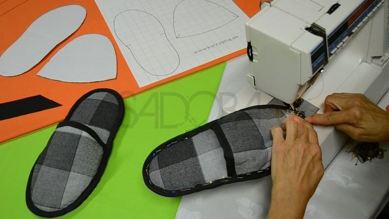 Ako ušiť domáce papuče