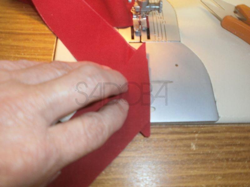 Ako ušiť šikmý pásik?