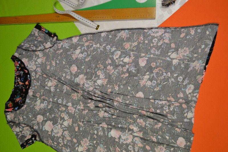 Ako zúžiť elastické letné šaty, strihané do A-čka?