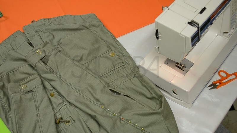 Ako opraviť roztrhnuté oblečenie?