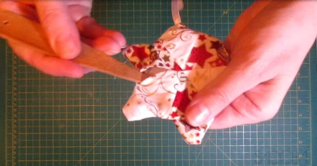 Vianočná hviezda - patchwork