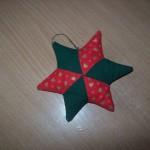 Vianočná hviezda – patchwork