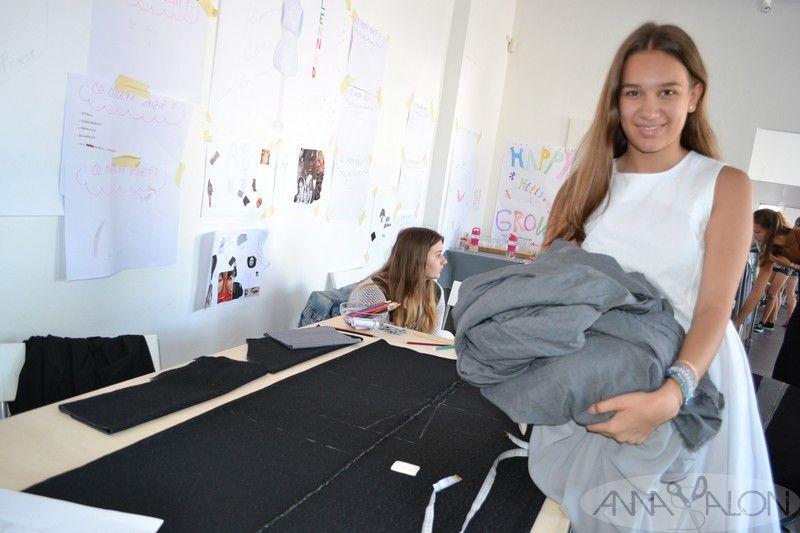 Letná akadémia módy 2016 - autorka modelu