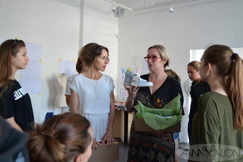 Letná akadémia módy 2016 - Jarka Črepová a tenisky Tikoki