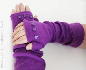 Urobme si náladu na šitie – teplé návleky na ruky