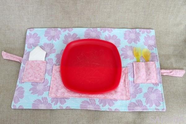 Držiak na príbory - základná pomôcka na piknik