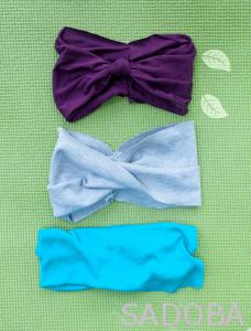 Praktická čelenka na jogu, či tréning