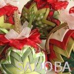 Inšpirajúce šitie: vianočná guľa