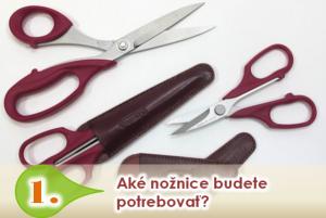 Aké nožnice si vybrať?