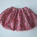 Bublinková sukňa - tutoriál