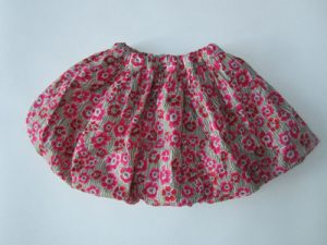 Bublinková sukňa – tutoriál