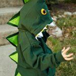 Detský kostým dinosaura na maškarný ples