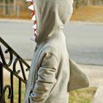 Detský kostým žraloka na fašiangy