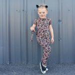 Leopardí kostým krok za krokom