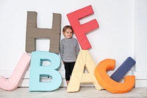 ABC – písmená do detskej izby