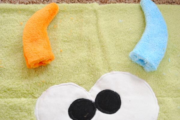 Rozkošné uteráky skapucňou