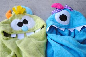 Rozkošné uteráky s kapucňou