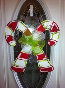 10 + 1 nápadov – vianočná ozdoba na dvere