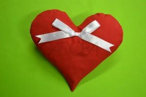 Ako ušiť obliečku v tvare srdca?