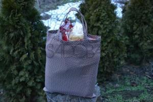 Šijeme jednoduchú nákupnú tašku 2. časť