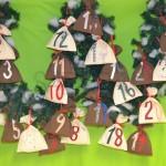 Šitie – Ako ušiť Adventné vrecúška?