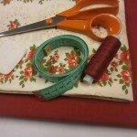 Šitie – Ako ušiť na obrus široký lem